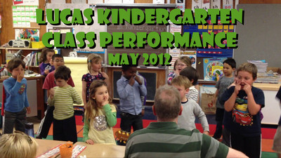 Lucas Kindergarten Performance